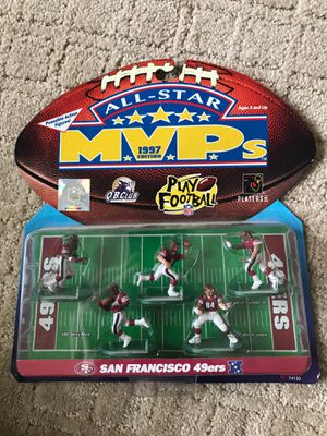 49ers mvps action figures for Sale in Fresno, CA