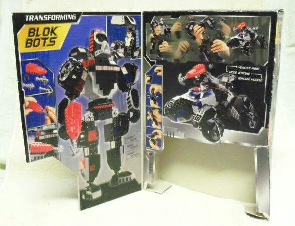 Mega Bloks Transforming Blok Bots SWAT #9332