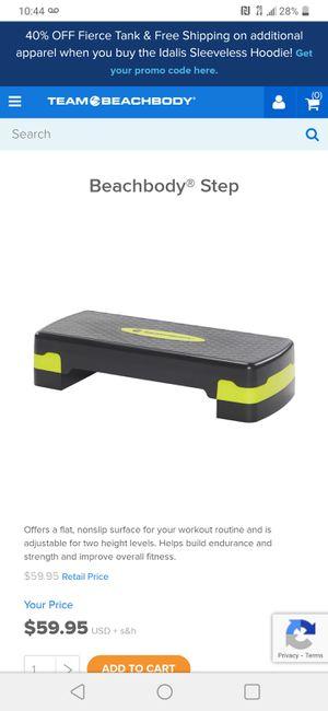 Beachbody adjustable exercise stepper for Sale in Auburn, WA