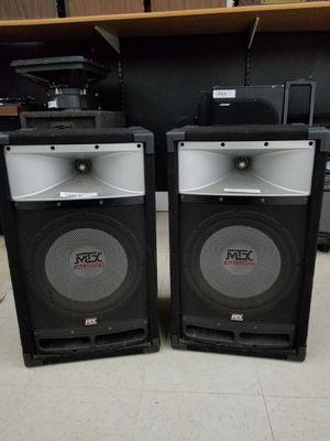 MTX audio pro dj speaker SET for Sale in Detroit, MI