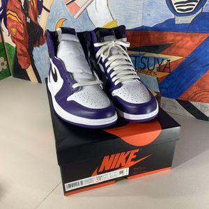 Air Jordan 1 court purple 2.0 for Sale in Cerritos, CA