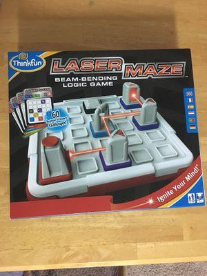 Laser Maze Beam Bending Logic Board Game ThinkFun Think Fun Single Player 8+ for Sale in Woodstock, GA