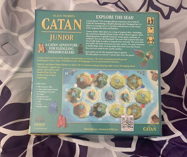 Klaus Teuber's Catan Junior Game