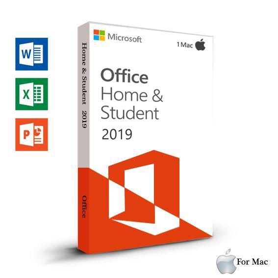 Microsoft Office Home and Student 2019 for 1 Mac Computer