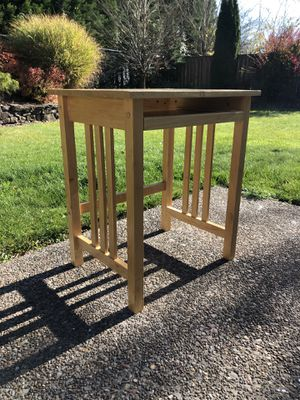 Small wooden desk for Sale in Troutdale, OR