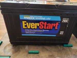 Marine&RV battery for Sale in Foley, AL