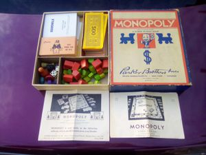 1936 Monopoly game.all peace,s and paperwork in very good condition for Sale in North Highlands, CA