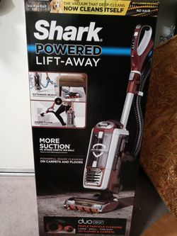 Shark DuoClean Powered Lift-Away Speed NV803 Upright Vacuum - Bagless - Foam Filter/HEPA for Sale in Chino,  CA