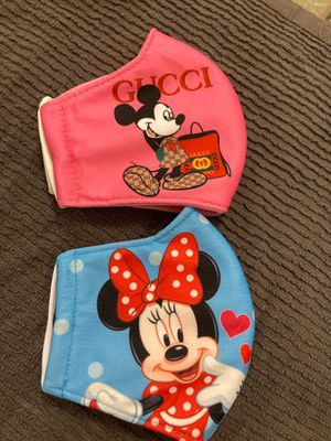 Face mask mickey and Minnie both for 12 for Sale in Miami, FL