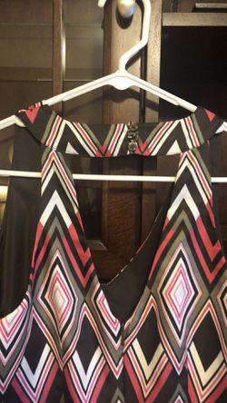 Banana Republic sleeveless multi-colored dress for Sale in Franklin,  TN