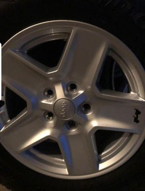jeep rims and tires for Sale in Chula Vista, CA