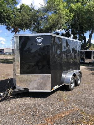 Enclosed trailer 7x10TA Diamond cargo @ Brothers trailers for Sale in Tampa, FL