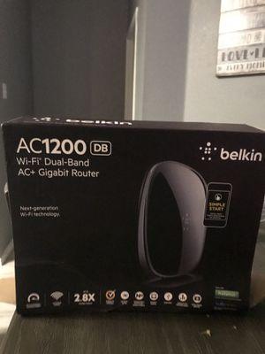 Belkin AC 1200 wireless router for Sale in Mansfield, TX