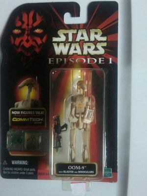 Star Wars Epi 1 Oom-9 with blaster and binoculars for Sale in San Diego, CA