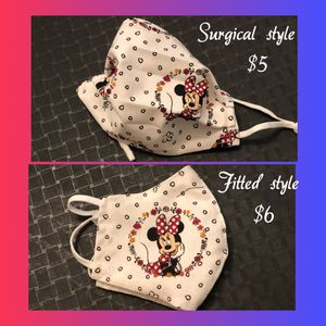 Disney Minnie Mouse cloth face mask for kids for Sale in Grand Prairie, TX