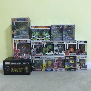 Funko Pop Lot - Marvel, Disney, DC, Pokemon, Star Wars, Superheroes for Sale in Burke, VA