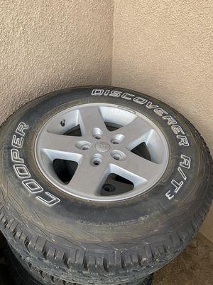 Jeep Wrangler JK OEM Wheels & Tires for Sale in Beaumont, CA