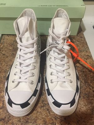 Off white converse size 9 for Sale in New York, NY
