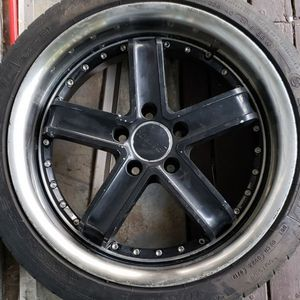 Set (4) 18x8 Petrol Fusion Wheels 5x112 for Sale in Vancouver, WA