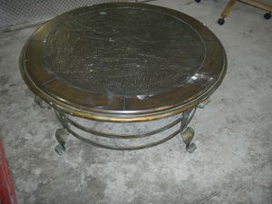 Scottsdale brown rust coffee table for Sale in Denver, CO