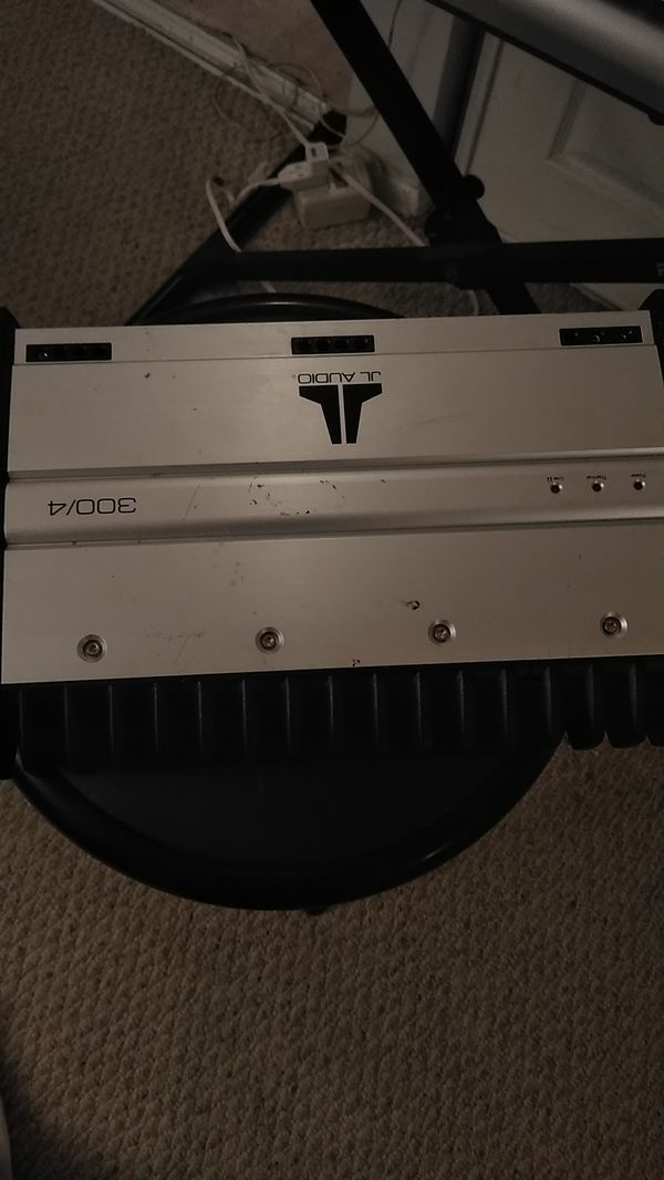 JL AUDIO AMPLIFIER 300/4