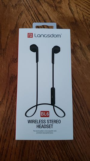 Langsdom BL6 wireless headphones for Sale in Catonsville, MD