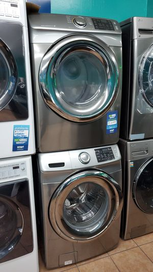 Samsung washer and dryer stainless for Sale in Los Angeles, CA