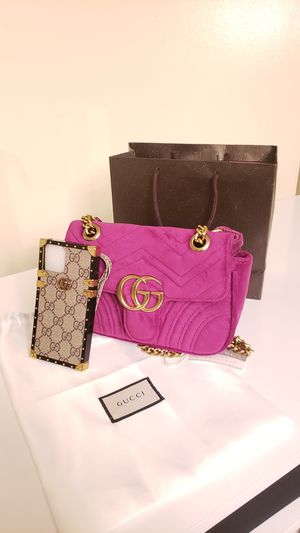 Gucci Velvet Bag for Sale in University Park, IL