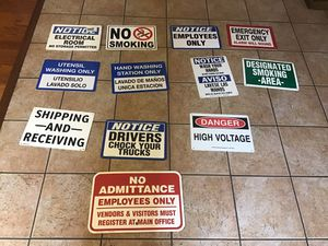 Commercial Signs and Posters for Sale in Buckeye, AZ