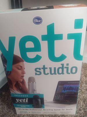 Yeti Black Out Mic plus Studio software for Sale in Fullerton, CA