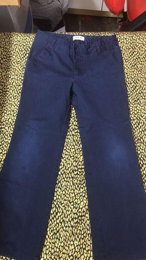 Blue uniform pants size 8 Girls for Sale in Wichita, KS
