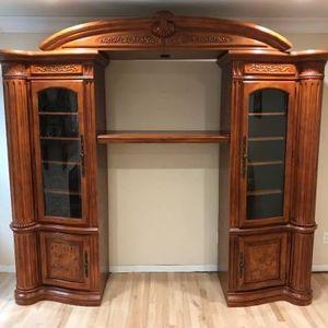 Michael Amini Media console, China Cabinet, Table for Sale in Auburn, WA