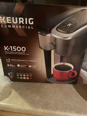 Keurig K1500 Single Serve Coffee Maker for Sale in Norwich, CT