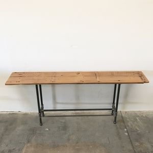 "Henry Reclaimed Wood Console Table 72"" Sofa Table Modern Rustic Farmhouse Industrial for Sale in Phoenix, AZ"