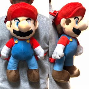Brand New! Super Mario Bros brothers stuffed toy backpack video games cartoon anime Nintendo Wii Mario kart for Sale in Carson, CA