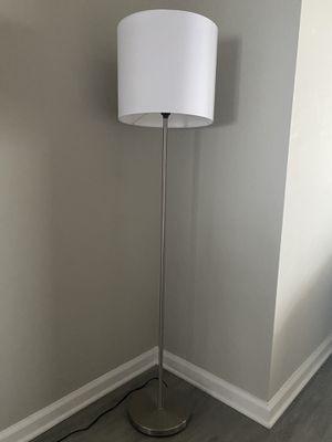 Nickel Iron Floor Lamp for Sale in Virginia Beach, VA