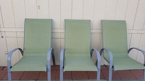Outside chairs for Sale in Fontana, CA
