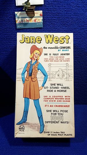 ( SOLD)vintage marx toy co. jane west for Sale in Jackson, MO