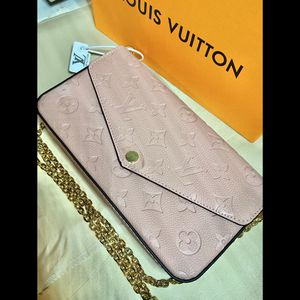 "pink handbag ""felicie pochette"" for Sale in Long Beach, CA"