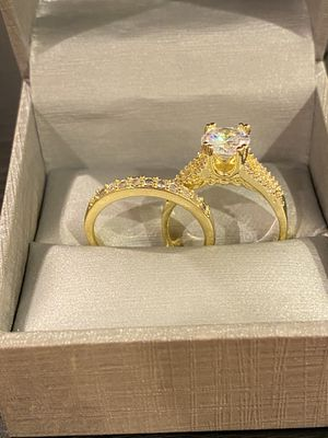 18K Gold plated Ring Set- Code MS001 for Sale in San Jose, CA