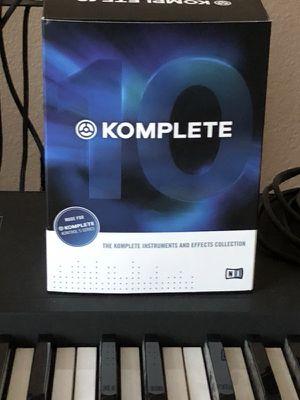 Komplete 10 installs disks for Sale in Lodi, CA