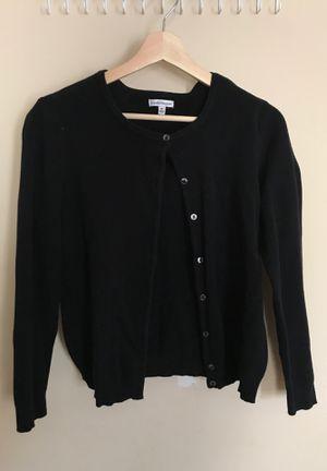 Black Croft&barrow cardigan for Sale in Sudley Springs, VA