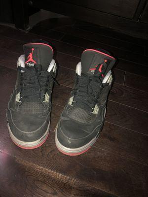 Jordan 4 Bred 2012 Used Size 10 Men for Sale in GARDEN CITY P, NY