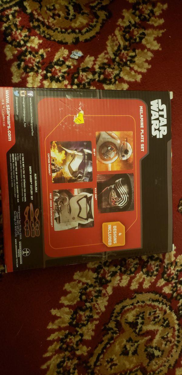 Star wars Plate set