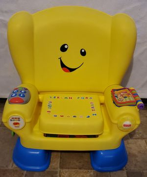 Fisher-Price Smart Stages Chair Yellow for Sale in Elkins, WV