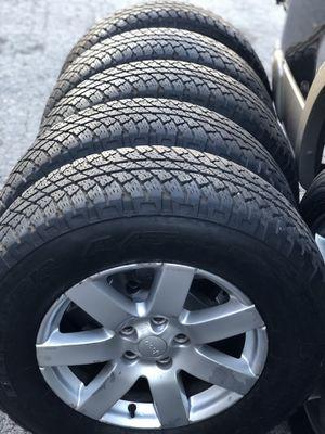 Wheels and tires Bridgestone dueler for Sale in Nashville, TN