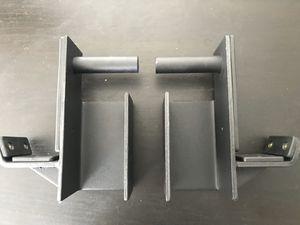 J-hooks (pair) for squat racks for Sale in Huntington Beach, CA