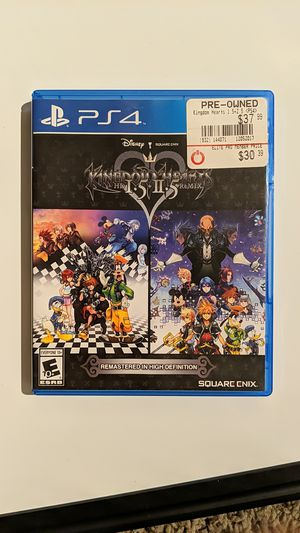 Kingdom Hearts 1.5 and 2.5 Remastered Remix PS4 for Sale in Upland, CA