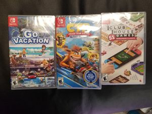 Nintendo switch games $35 ea for Sale in Aurora, CO