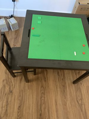 Kids LEGO table and two chairs for Sale in Ramona, CA
